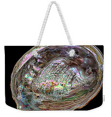 Weekender Tote Bag featuring the photograph Abalone by Kathi Mirto