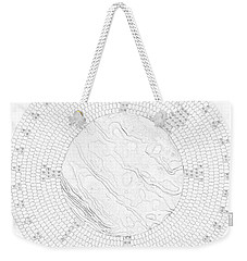 Abalone Shell Turtle Weekender Tote Bag