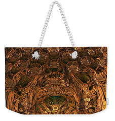 Abandon All Hope Ye Who Enter Here Weekender Tote Bag by Lyle Hatch