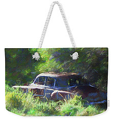 Abandoned 1950 Chevy Dop Weekender Tote Bag