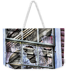 Weekender Tote Bag featuring the photograph Abandoned by Alana Ranney