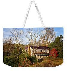 Abandoned Autumn Weekender Tote Bag