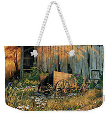 Abandoned Beauty Weekender Tote Bag by Michael Humphries