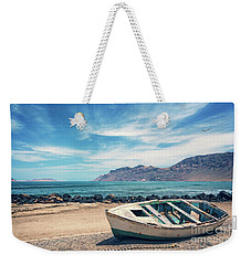 Abandoned Boat Weekender Tote Bag by Delphimages Photo Creations