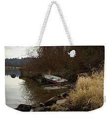 Abandoned Boat II Weekender Tote Bag
