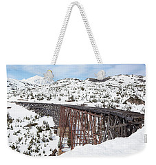Abandoned Bridge Weekender Tote Bag