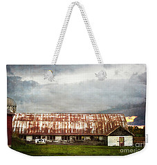 Abandoned Dairy Farm Weekender Tote Bag