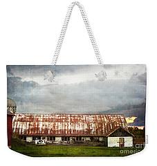 Abandoned Dairy Farm Weekender Tote Bag