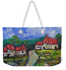 Abandoned Farm Weekender Tote Bag by Clyde J Kell