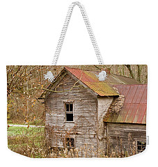 Abandoned Farmhouse In Kentucky Weekender Tote Bag