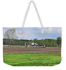 Abandoned Farmhouse Weekender Tote Bag