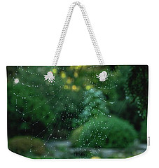 Morning Web Weekender Tote Bag