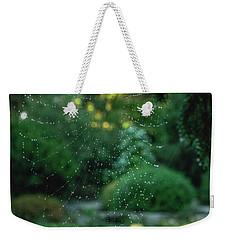 Morning Web Weekender Tote Bag