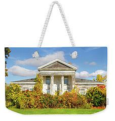 Abandoned Greek Revival Weekender Tote Bag