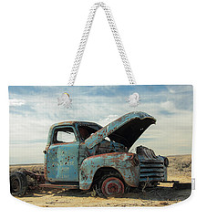 Abandoned In The Desert Weekender Tote Bag