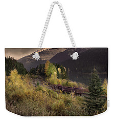 Weekender Tote Bag featuring the photograph Abandoned  by John Poon