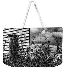 Weekender Tote Bag featuring the photograph Abandoned by Kendall McKernon