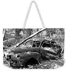 Abandoned Weekender Tote Bag by Mark Alan Perry