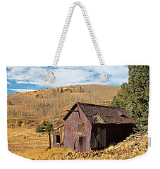 Abandoned Minining Shack Weekender Tote Bag