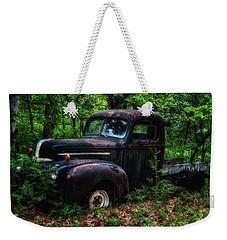 Abandoned - Old Ford Truck Weekender Tote Bag