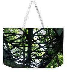 Abandoned Railroad Bridge Weekender Tote Bag