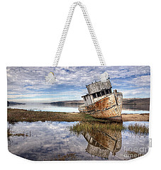 Abandoned Ship Weekender Tote Bag