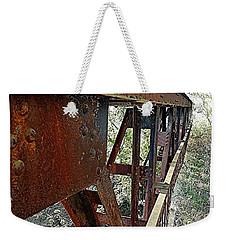 Abandoned Steel Bridge Nashville Indiana Weekender Tote Bag