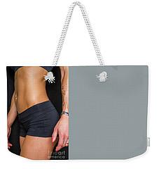 Abdominal Muscles Weekender Tote Bag