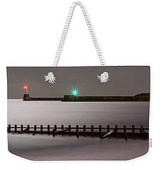 Aberdeen Beach At Night _ Pano Weekender Tote Bag