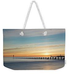 Aberdeen Beach Sunrise Weekender Tote Bag