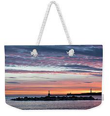 Aberdeen Lighthouses Weekender Tote Bag
