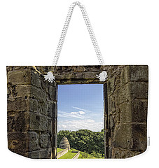 Weekender Tote Bag featuring the photograph Aberdour Castle by Jeremy Lavender Photography