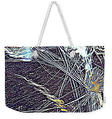 Aberration Of Jelly Fish In Rhapsody Series 1 Weekender Tote Bag by Antonia Citrino