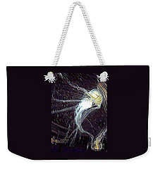 Aberration Of Jelly Fish In Rhapsody Series 2 Weekender Tote Bag by Antonia Citrino