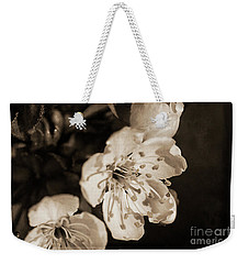 Weekender Tote Bag featuring the photograph Abiding Elegance by Linda Lees