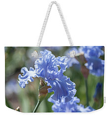 Abiqua Falls 1. The Beauty Of Irises Weekender Tote Bag