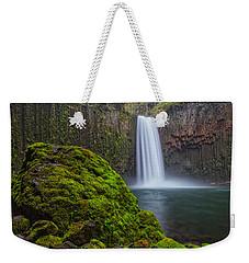 Abiqua Falls Weekender Tote Bag