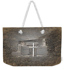 Abiquiu Nm Church Ruin Weekender Tote Bag