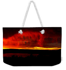 Abiquiu Reservoir  Weekender Tote Bag by Dennis Ciscel
