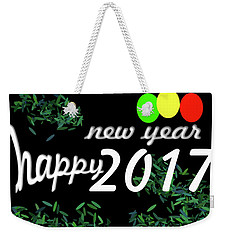 About New Year Weekender Tote Bag by Dani Awaludin