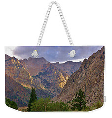 About The Light Weekender Tote Bag by Marilyn Diaz