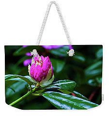 About To Unfold Weekender Tote Bag