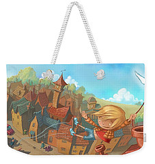 About Town Weekender Tote Bag