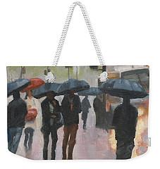 About Town Weekender Tote Bag