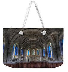 Above Blue Weekender Tote Bag