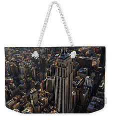 Above It All  Weekender Tote Bag by Anthony Fields