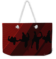 Above Perspective Weekender Tote Bag