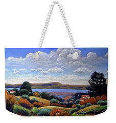 Above San Mateo Weekender Tote Bag
