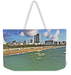 Above South Beach  Weekender Tote Bag