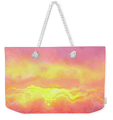 Above The Clouds - Abstract Art Weekender Tote Bag by Jaison Cianelli